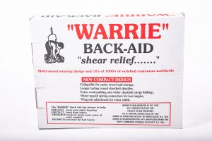 Warrie Back Aid Support Gear